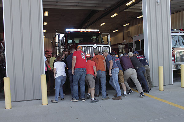 Spearfish Fire Department welcomes new truck with old tradition
