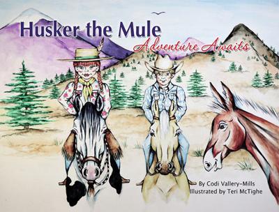 Local author releases third children's book