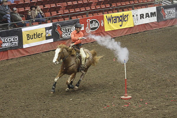 Mounted shooting takes center stage at BH Stock Show