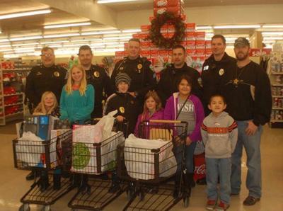 Law enforcement sponsors Cops & Kids Christmas
