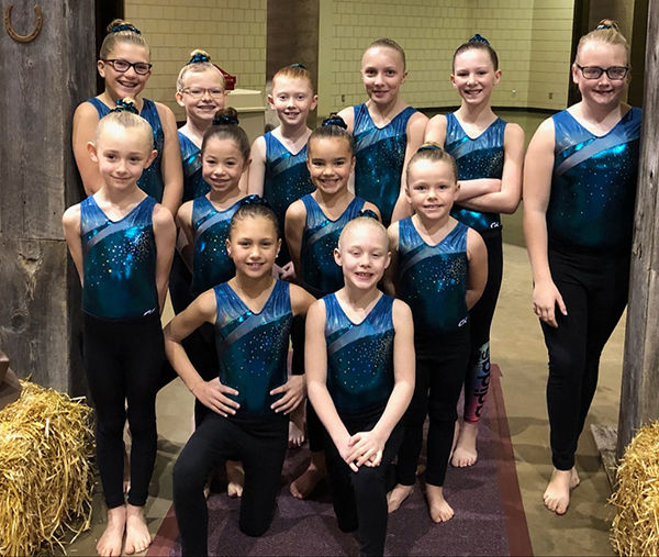 Spearfish gymnasts compete in Rapid City