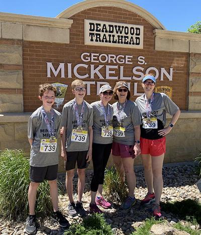 Three generations of family complete Marathon Relay