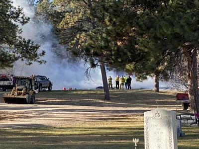 Spontaneous combustion at cemetery ignites fire department response