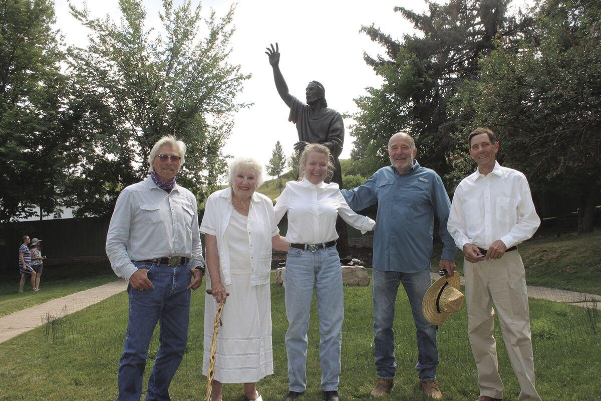 Long awaited Christ statue comes to Spearfish