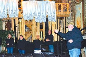 Phantoms of the Homestake Opera House?