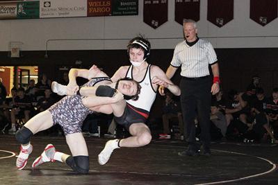Spearfish High School wrestling team down in numbers