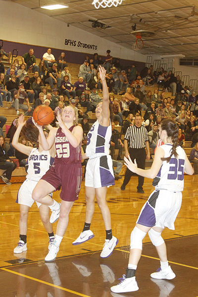 Belle Fourche girls hold off Diggers