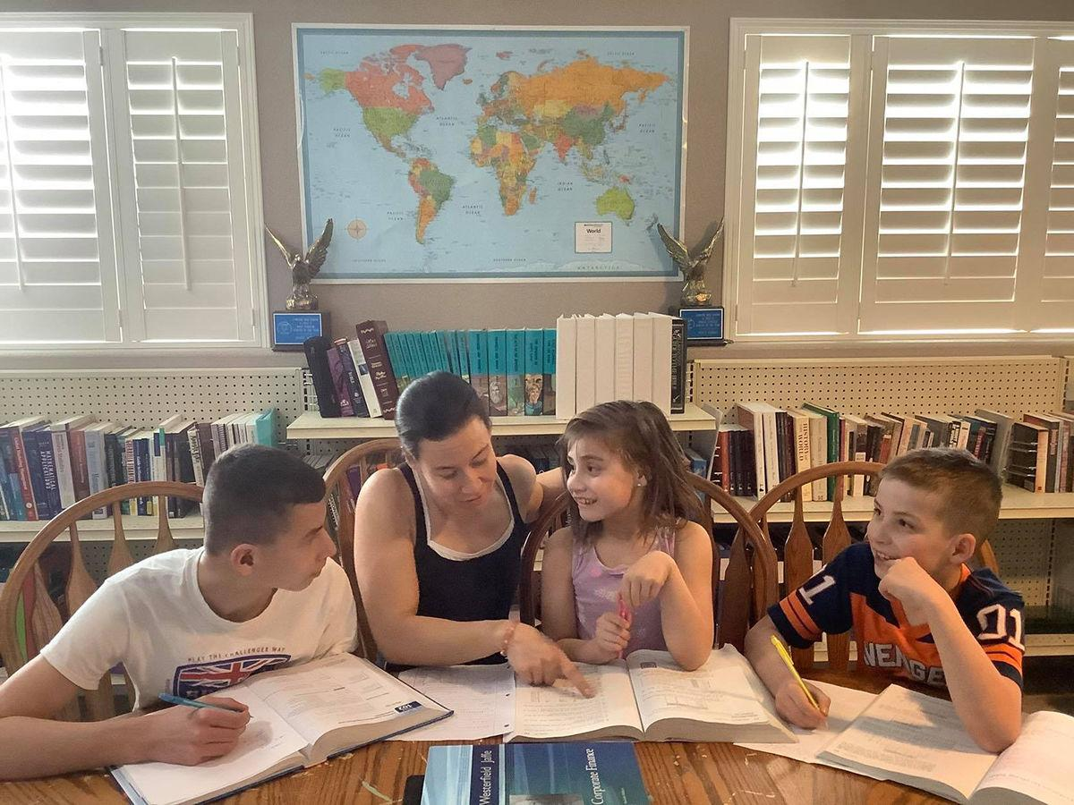 Advice offered for parents teaching at home