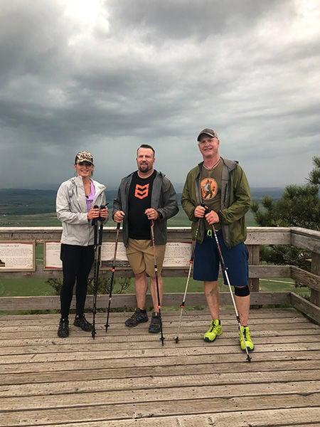 Spearfish residents complete grueling marathon hike