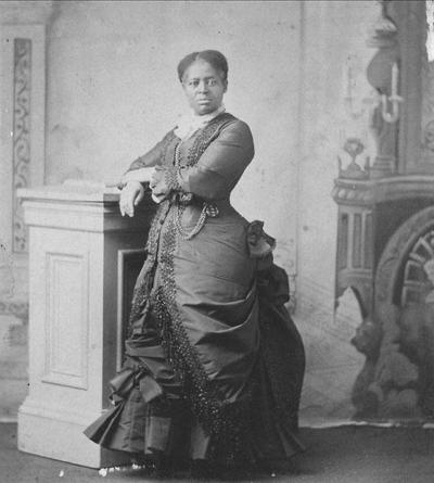 Lucretia 'Aunt Lou' Marchbanks was a beloved figure