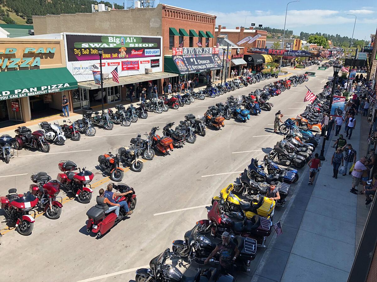80th Sturgis Motorcycle Rally seeing smaller crowds