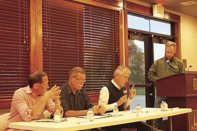 Council candidates get candid