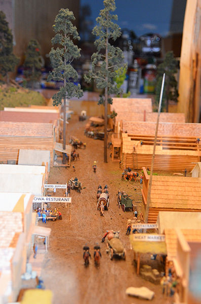 $45K Deadwood Diorama to anchor History and Information Center exhibit revamp