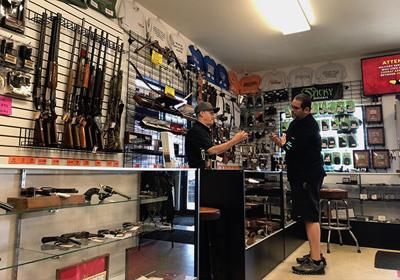 Uncertainty causing uptick in sale of guns, ammo