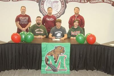 Sailor signs to wrestle at Minot State