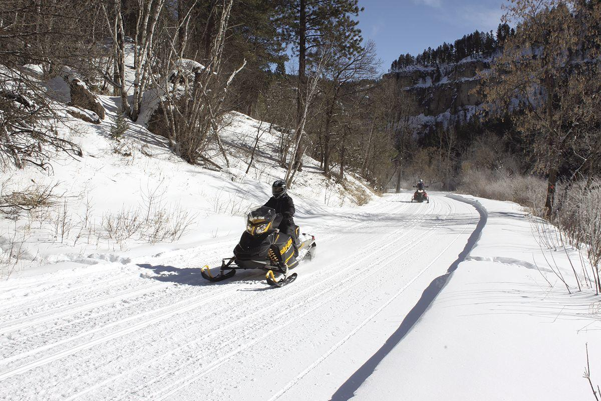 aa2051da004 Black Hills snowmobile trails seeing best conditions in recent years ...