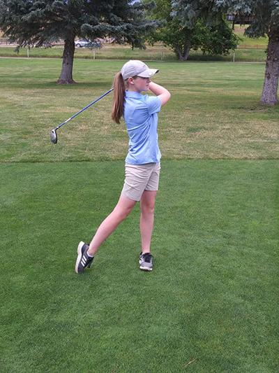 Alison Kennedy rising up to golf's challenge