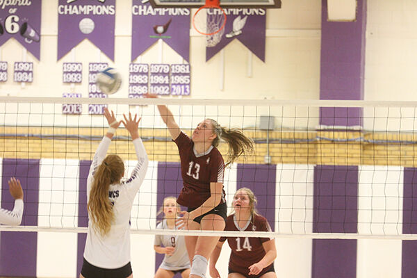Spearfish VB team earns sweep over host Belle Fourche