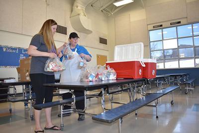 Meade School District packs meals