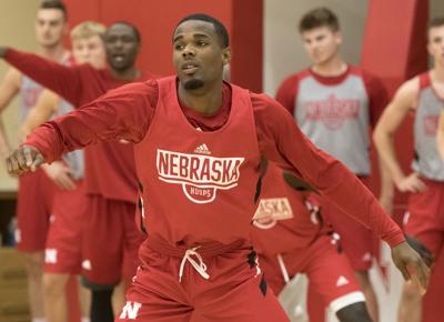 Nebraska men's hoops practice, 7.23