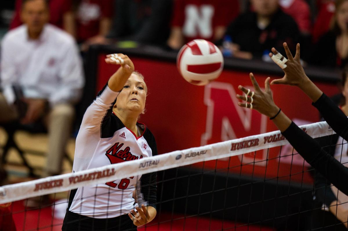 Nebraska volleyball vs. Rutgers, 11/3/18