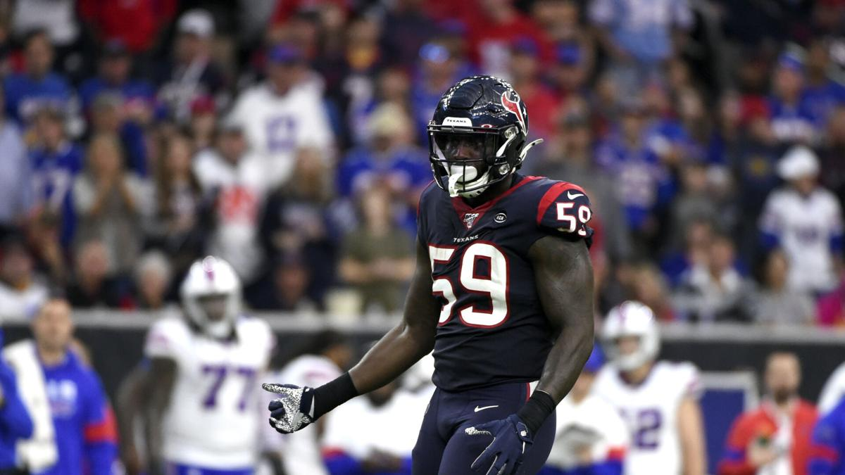 Whitney Mercilus, linebacker, Houston Texans