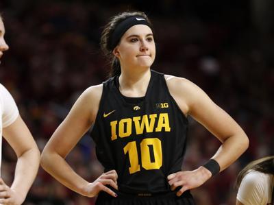 Megan Gustafson, Iowa, AP photo