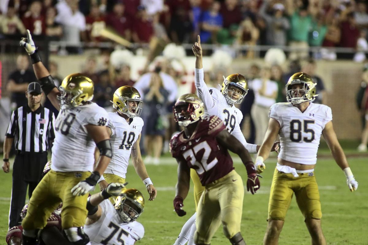 APTOPIX Notre Dame Florida St Football