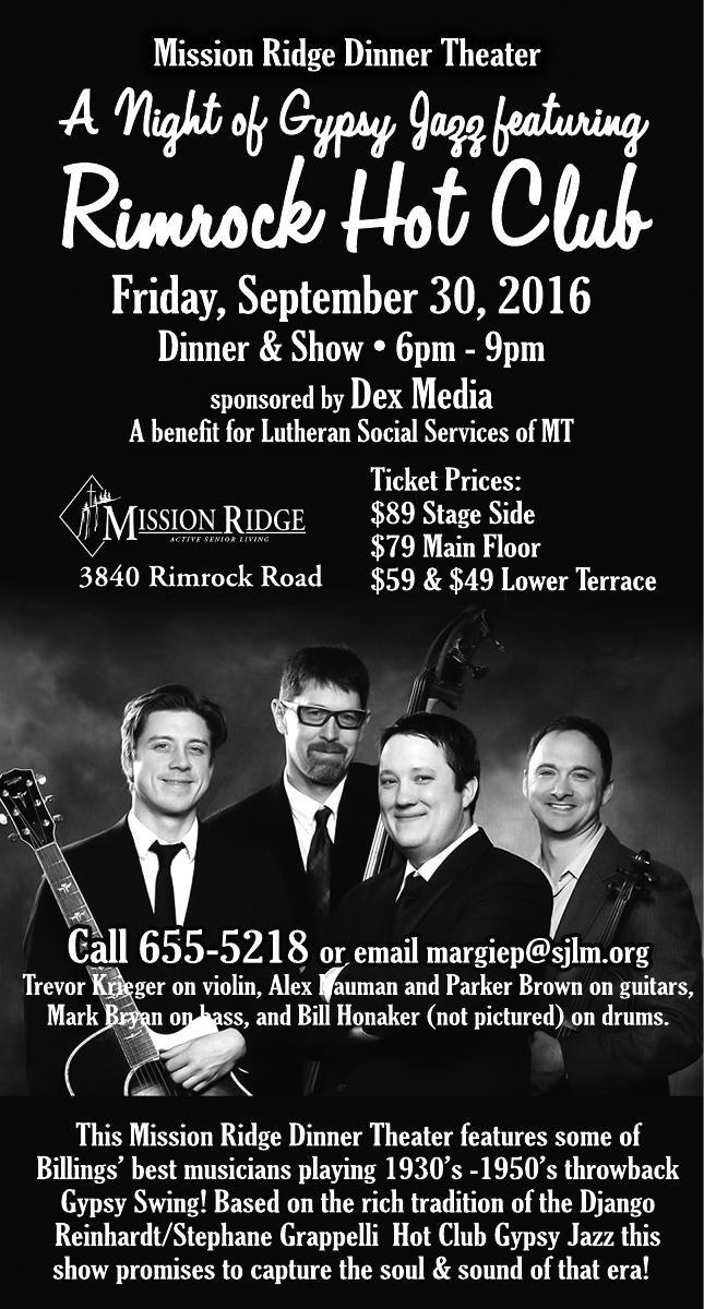 Mission Ridge Dinner Theater