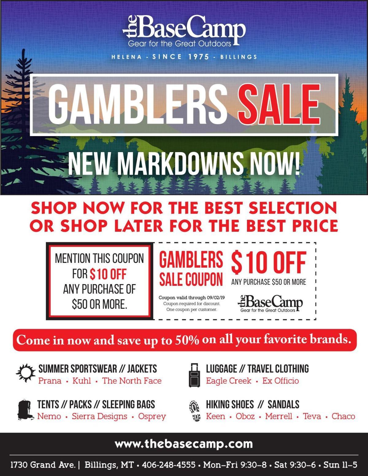 Gamblers Sale
