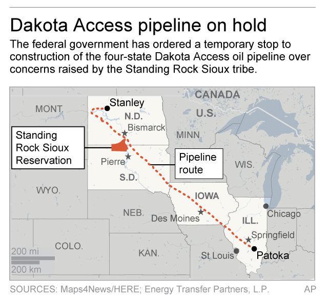 Dakota Access Pipeline Iowa Map.Dakota Access Ceo Company Committed To Finishing Project Business