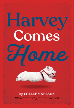 """""""Harvey Holds His Own"""" by Colleen Nelson, Illustrations by Tara Anderson"""