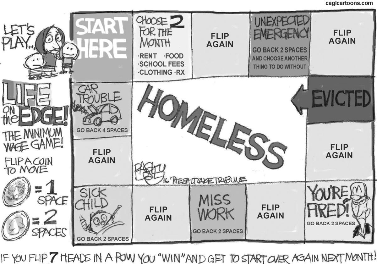 Life on the edge of homelessness