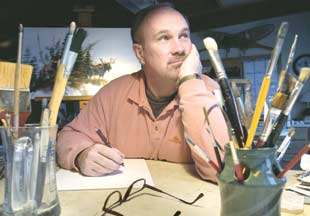 Billings artist Mike Capser marks 25th anniversary of career