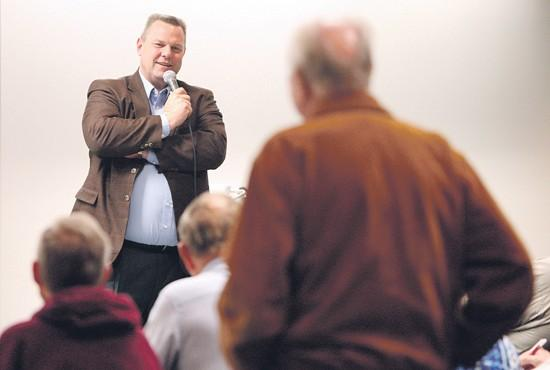 Tester hears complaints, praise from vets
