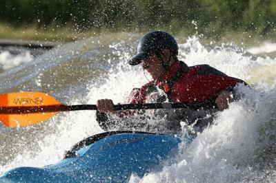 Luke Sutton kayaks
