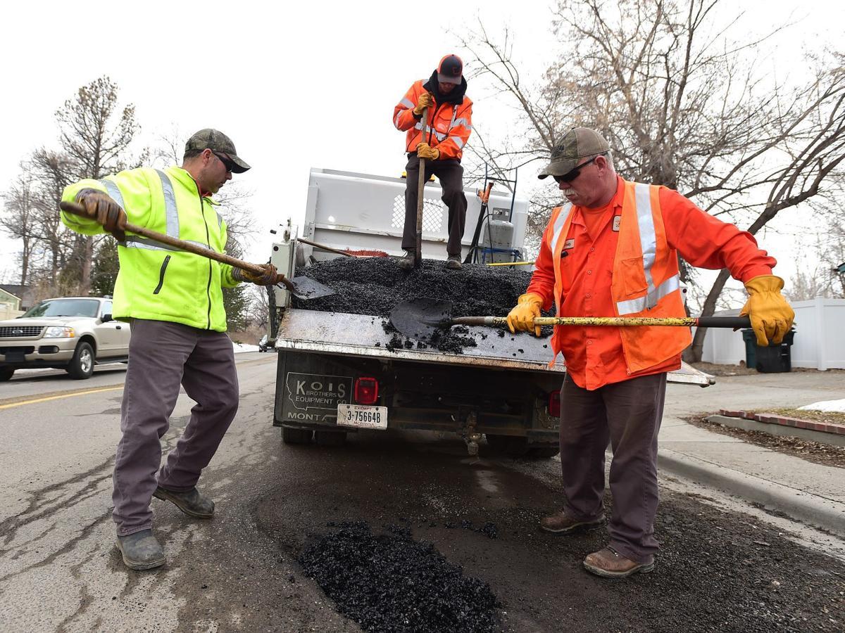 Pothole crew