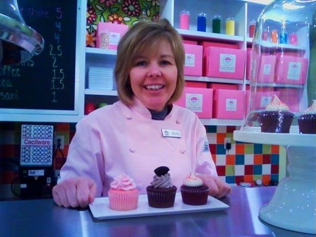 Tipsy Cupcake