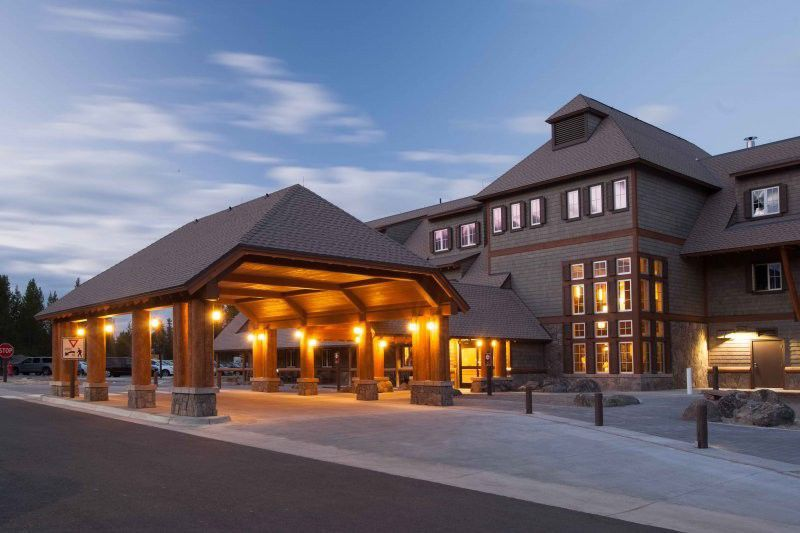 New yellowstone lodging built upgrades made montana Yellowstone log cabin hotel