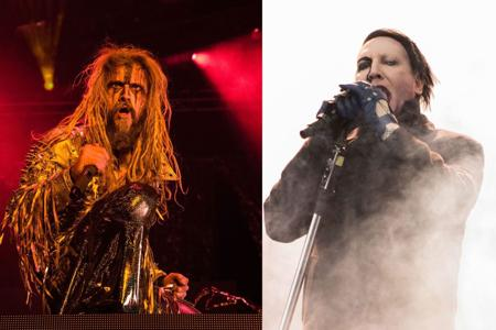 Rob Zombie and Marilyn Manson share MetraPark bill - Please turn images on