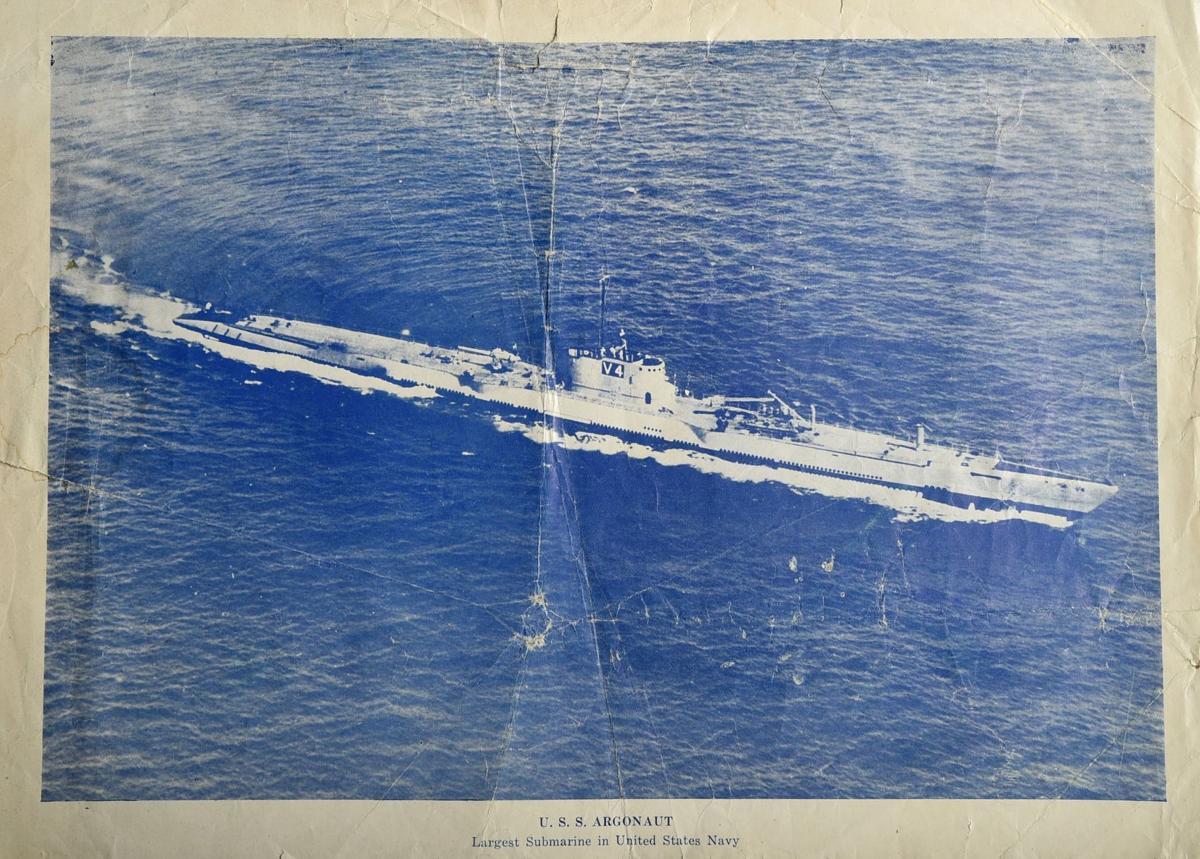 Harold Logan submarine