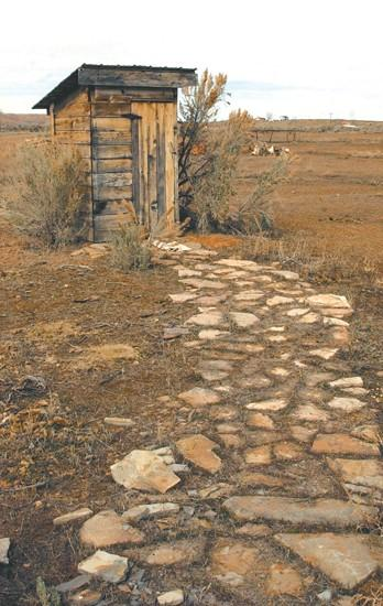 Old cabin, jail bring history to land
