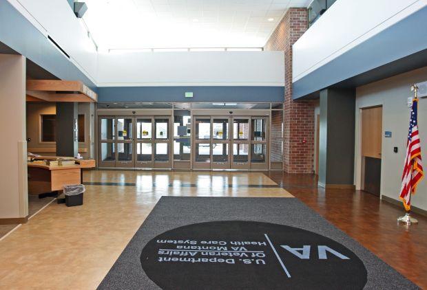 VA Clinic entrance