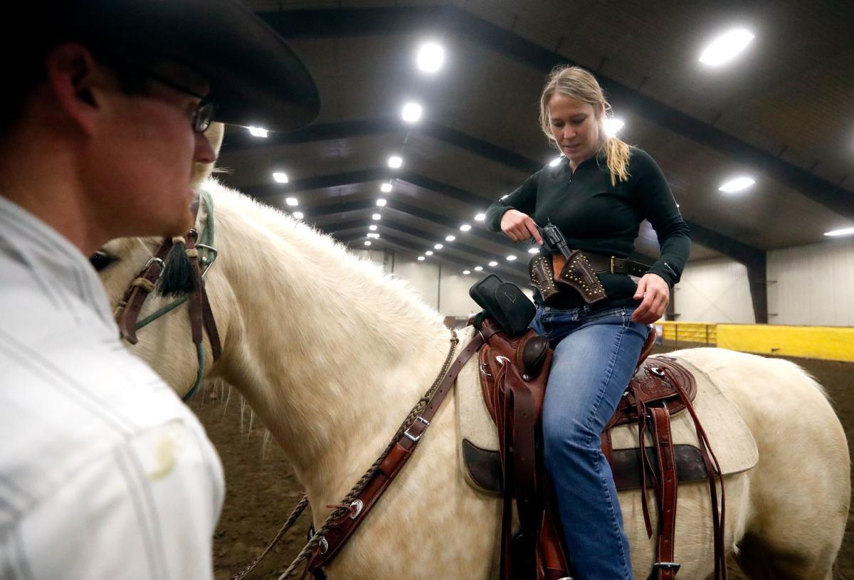 Cowboy Mounted Shooting in Silesia