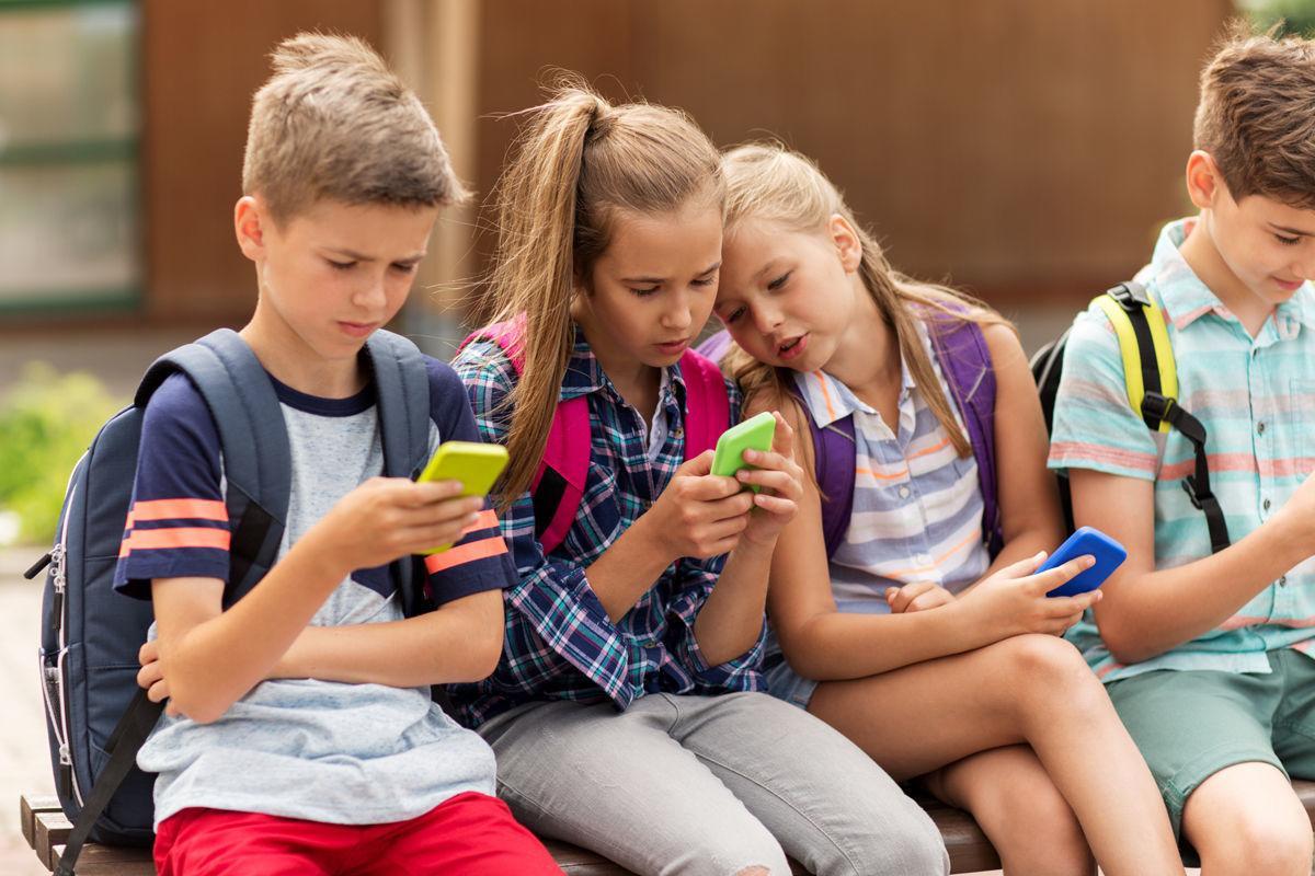 Texting tweens