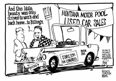 Stapleton's motor pool misuse