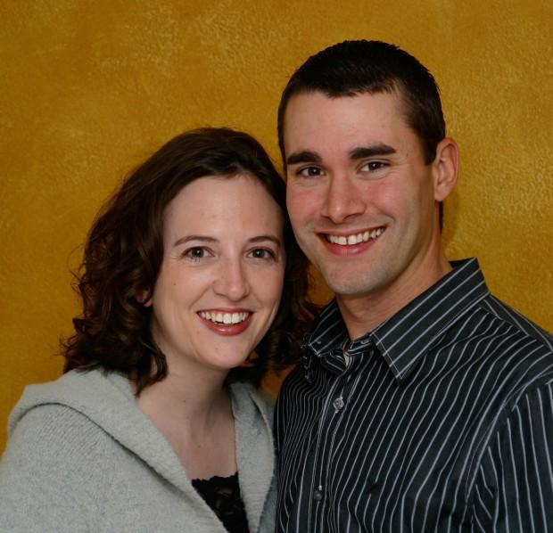 Sarah Thomas and Cody Schulke