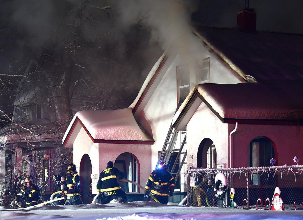 Avenue B fire south side