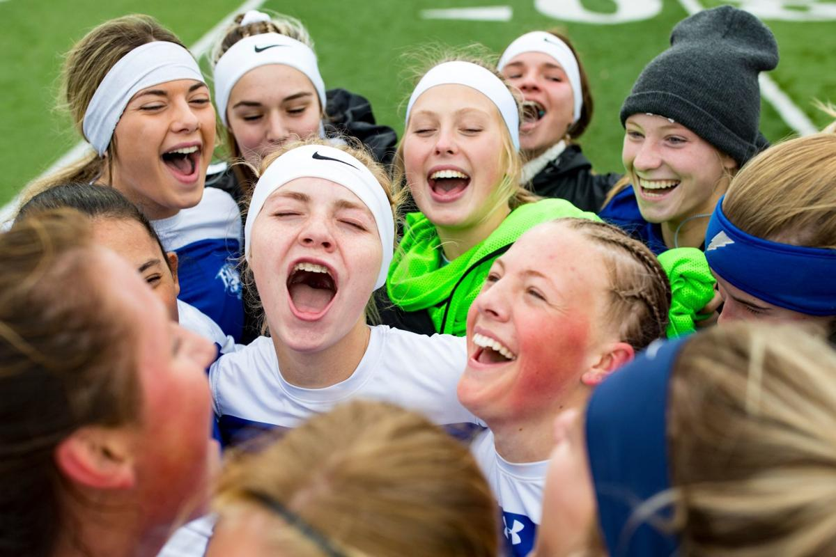 Skyview girls celebrate