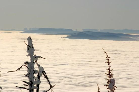 In a temperature inversion, you can't always believe your eyes
